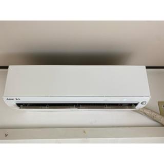 ミツビシ(三菱)の室外機も送料込 2019年製 三菱 お掃除エアコン 10畳用 冷暖房 クーラー (エアコン)