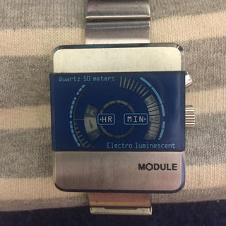 MODULE 腕時計 時計 四角 アナログ デジタル(腕時計(デジタル))