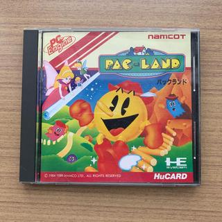 バンダイナムコエンターテインメント(BANDAI NAMCO Entertainment)のPCエンジン「パックランド」(家庭用ゲームソフト)