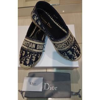 ディオール(Dior)のDior オブリーク エスパドリーユ シューズ(スリッポン/モカシン)