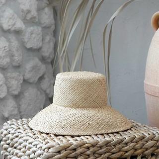 ルームサンマルロクコンテンポラリー(room306 CONTEMPORARY)のbraid paper Hat 新品(麦わら帽子/ストローハット)
