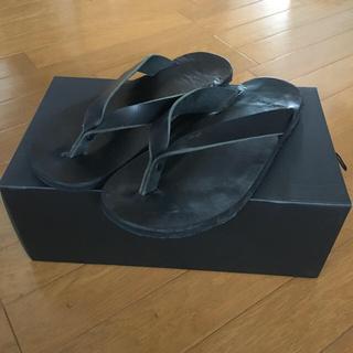 ヨウジヤマモト(Yohji Yamamoto)のBishool Hand Craft Leather Beach Sandal(サンダル)
