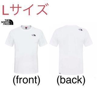 THE NORTH FACE - 最新2020 ノースフェイス Tシャツ Lサイズ 新品未使用品 White