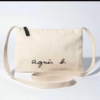 agnes b. - 新品 アニエスベー サコッシュ アイボリー