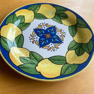 カルディ(KALDI)の限定品 カルディ レモン柄 陶器皿(食器)