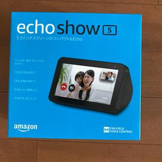 エコー(ECHO)の新品未開封 amazon echo show 5(スピーカー)