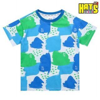 HATS-ON(ハッツオン)-ELSTINKO KidsデザインTシャツ 001(Tシャツ/カットソー)