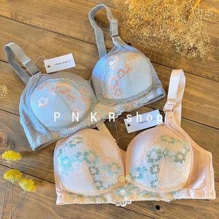【TB02】M 授乳ブラ 2枚セット ノンワイヤー 授乳期 妊娠 マタニティ