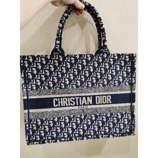 ディオール(Dior)の美品 Christian Dior ブックトート バッグ (トートバッグ)