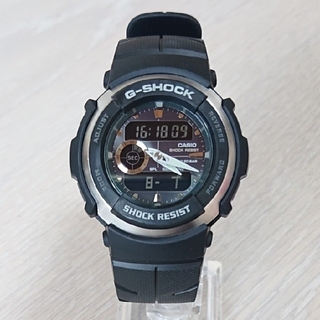 カシオ(CASIO)の良品【CASIO/G-SHOCK】デジアナ メンズ腕時計 G-300-3AJF(腕時計(デジタル))