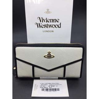 ヴィヴィアンウエストウッド(Vivienne Westwood)のVivienneWestwood ヴィヴィアンウエストウッド ホワイト 特価 白(長財布)