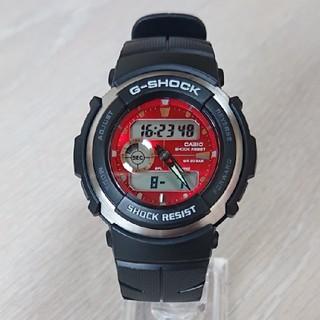 カシオ(CASIO)の良品【CASIO/G-SHOCK】デジアナ メンズ腕時計 G-300-4AJF(腕時計(デジタル))
