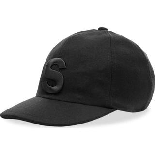sacai - 【20AW・新品】sacai melton cap s logo BLACK・3
