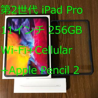 iPad - 第2世代 iPad Pro 11 256GB Cellular ペン・ケース付属