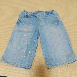 ザショップティーケー(THE SHOP TK)のTK SAPKID デニムハーフパンツ 半ズボン ショートパンツ Mickey(パンツ/スパッツ)