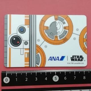 エーエヌエー(ゼンニッポンクウユ)(ANA(全日本空輸))のANA  STAR WARS card BB-8(ノベルティグッズ)