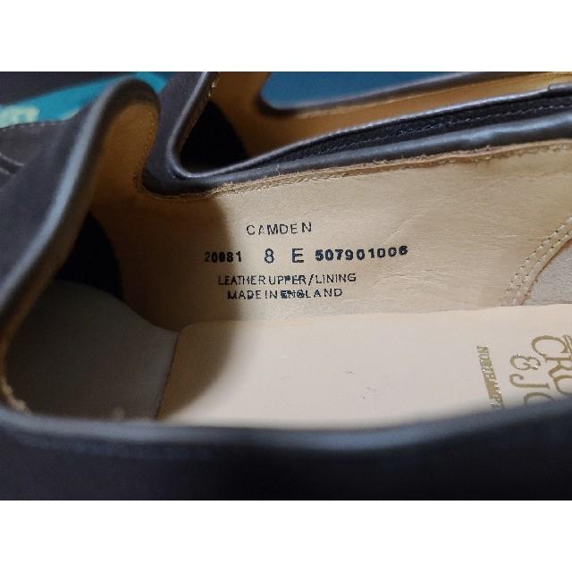 Crockett&Jones(クロケットアンドジョーンズ)のクロケット&ジョーンズ CAMDEN(カムデン)8E メンズの靴/シューズ(スリッポン/モカシン)の商品写真