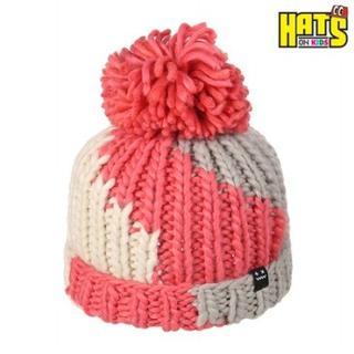HATS-ON ハートニット帽 KIDS 8110(帽子)