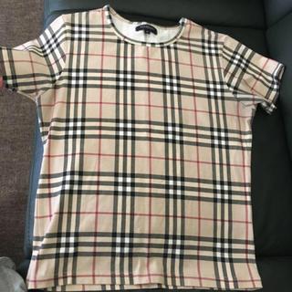 バーバリー(BURBERRY)のTシャツM(Tシャツ(半袖/袖なし))