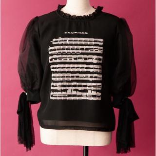 ロディスポット(LODISPOTTO)のLODISPOTTO 交響曲第5番トップス/LuminousLODISPOTTO(カットソー(半袖/袖なし))