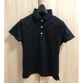ニジュウサンク(23区)のポロシャツ 23区 黒 23区sports(ポロシャツ)