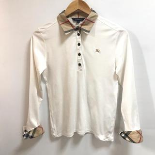 バーバリー(BURBERRY)のBURBERRY LONDONの長袖ポロシャツ★サイズ160A山陽商会(シャツ/ブラウス(長袖/七分))