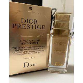 クリスチャンディオール(Christian Dior)のディオール プレステージ ル  フルイド タン ドゥ ローズ(ファンデーション)