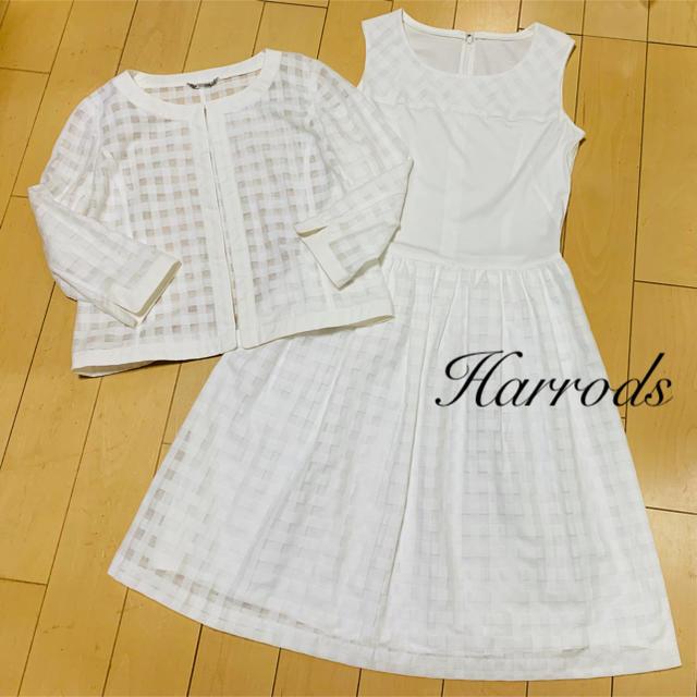 Harrods(ハロッズ)のHarrods♡サマーセットアップスーツ レディースのフォーマル/ドレス(スーツ)の商品写真
