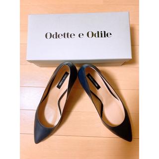 オデットエオディール(Odette e Odile)の美品です Odette e Odile OID SLポインテッド パンプス70(ハイヒール/パンプス)