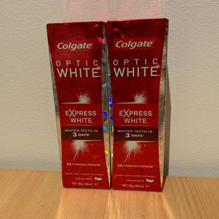 新品 Colgate コルゲート express white ホワイトニング(歯磨き粉)