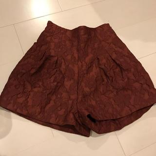 リリーブラウン(Lily Brown)のlily brown ショートパンツ キュロット(キュロット)