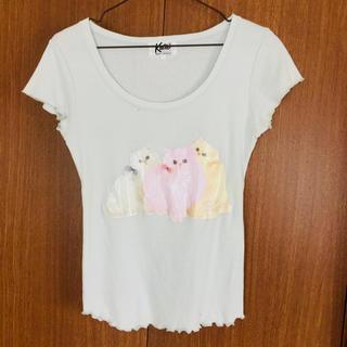 ケイティー(Katie)のケイティ katie Tシャツ メロウ トップス 猫(Tシャツ(半袖/袖なし))