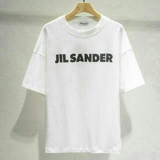 Jil Sander - JIL SANDER オーバーサイズ M ロゴ Tシャツ 未使用
