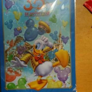 ドナルドダック(ドナルドダック)のドナルドダック 東京ディズニーランド30周年記念クリアファイル(キャラクターグッズ)