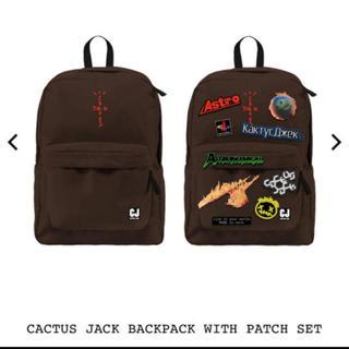 NIKE - travis scott fortnite backpack patch set