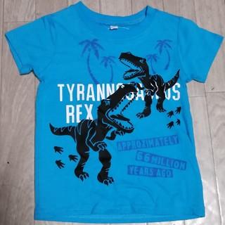 男の子 恐竜柄 Tシャツ