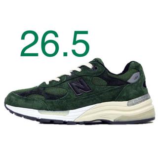New Balance - jjjjound new balance 992 green 26.5cm NB