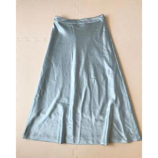 ロンハーマン(Ron Herman)のDONdEEyU フレアスカートサテンスカート ロングスカート(ひざ丈スカート)