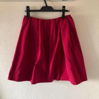 ドゥアルシーヴ(Doux archives)のDOUX archives スカート ショッキングピンク サイズ M(ひざ丈スカート)