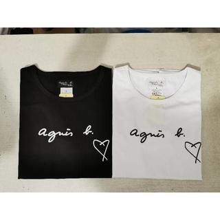 agnes b. - agnes b. アニエス?ベー 半袖Tシャツ 2枚Lサイズ