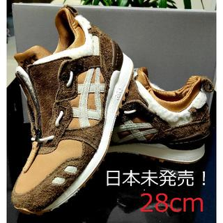 asics - 28 ASICS TIGER アシックス GEL-LYTE ブラウン 日本未発売