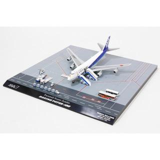 エーエヌエー(ゼンニッポンクウユ)(ANA(全日本空輸))の747SR-100 ANA全日空 最終飛行時地上支援車輌17点セット 1/400(模型/プラモデル)