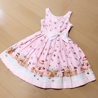 Angelic Pretty - AngelicPretty お菓子の国JSK ピンク