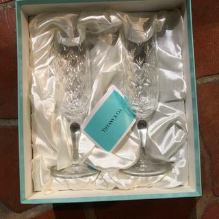 ティファニー(Tiffany & Co.)のティファニー シャンパングラス ペアグラス TIFFANY&Co.(グラス/カップ)