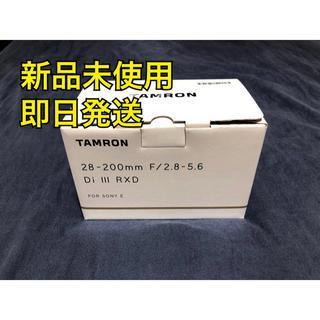 タムロン(TAMRON)のタムロン レンズ 28-200mm F/2.8-5.6 Di Ⅲ RXD(レンズ(ズーム))