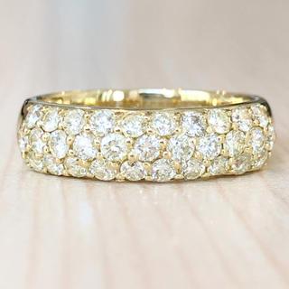 ✨合計1ct✨ダイヤモンド❣️ダイヤ K18 18金 リング 指輪