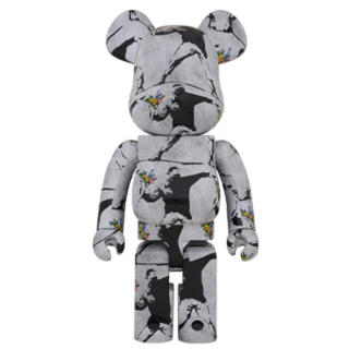 MEDICOM TOY - BE@RBRICK FLOWER BOMBER 1000% バンクシー