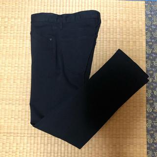 UNIQLO カラーステイスリムフィットジーンズ 28インチ ブラック