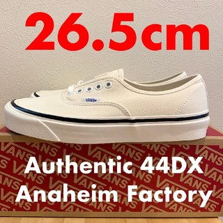 VANS - 26.5 VANS Authentic 44DX Aneheim factory