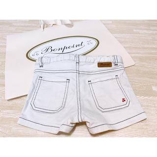 Bonpoint - 美品 ボンポワン さくらんぼ刺繍 ショートパンツ